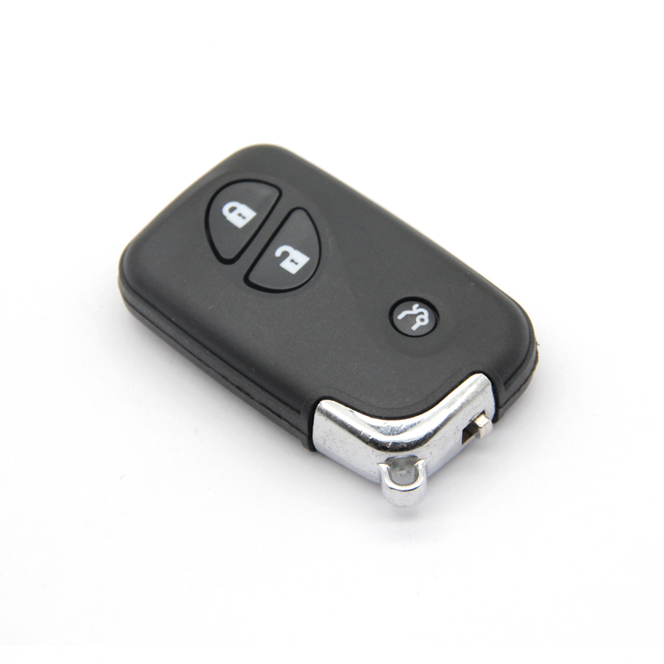 Good Quality Car Remote Key Replacement shell Transponder Car Key Case with Durable Blade 3 Buttons