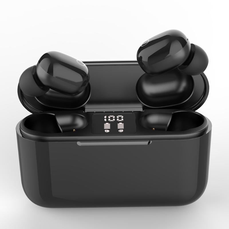 J25 Digital display Headphones Power Bank Fone De Ouvido Sem Fio Bluetooth Auriculares Auriculares Elephone P8 Fone Sem Fio
