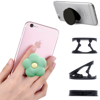 Mobile phone holder high quality free custom custom logo phone socket popis finger clip with Popping grip bracket Popsocketed
