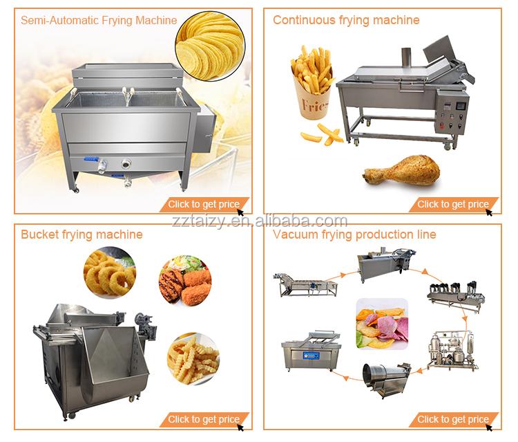 Automatic vacuum frying machine de-oiling machine jujube frying machine
