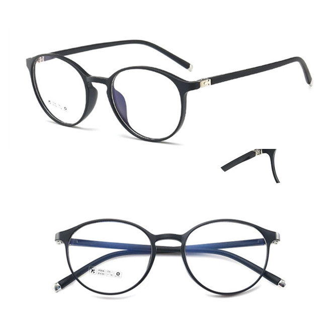 Hot Selling TR90 Optical Eye Glasses Oval Spectacle Frames Custom Brand Wholesale Flex Silicon Eyeglass For Men And Women