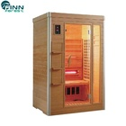 Wood Sauna Wood Sauna Room 2-6 Person Far Infrared Wood Best Price Sauna Room