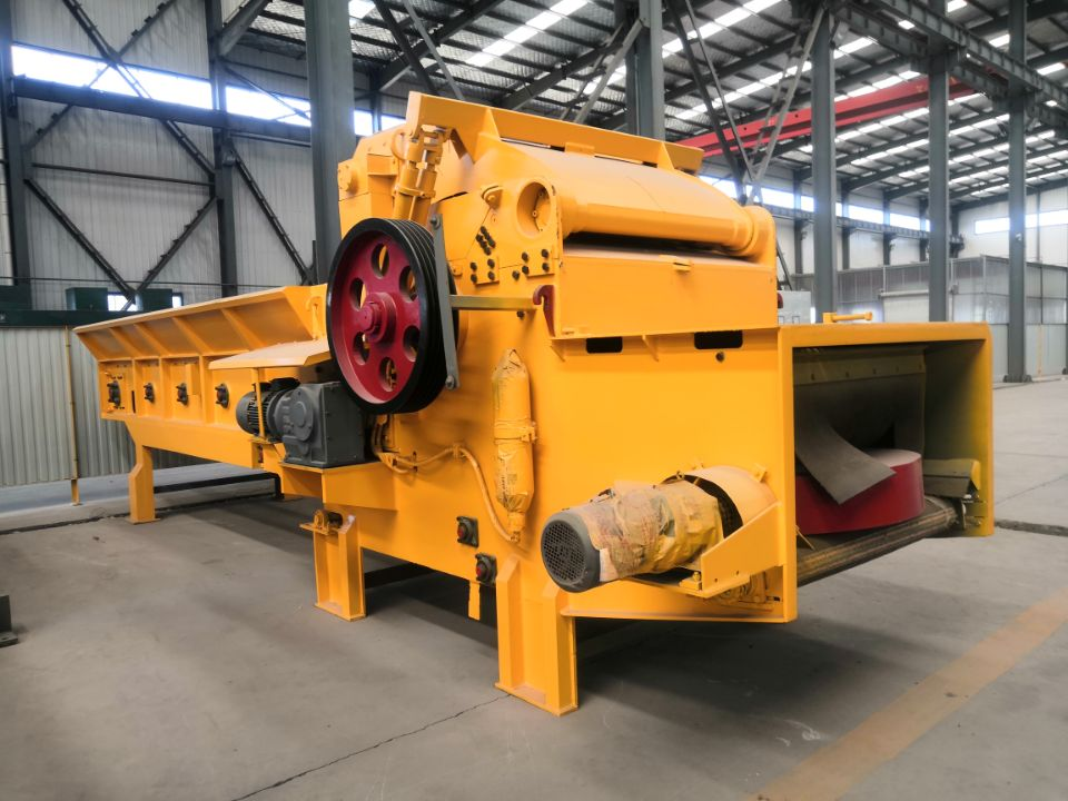 Large capacity wood crusher grind wood crushing machine Wood Chipper Machine