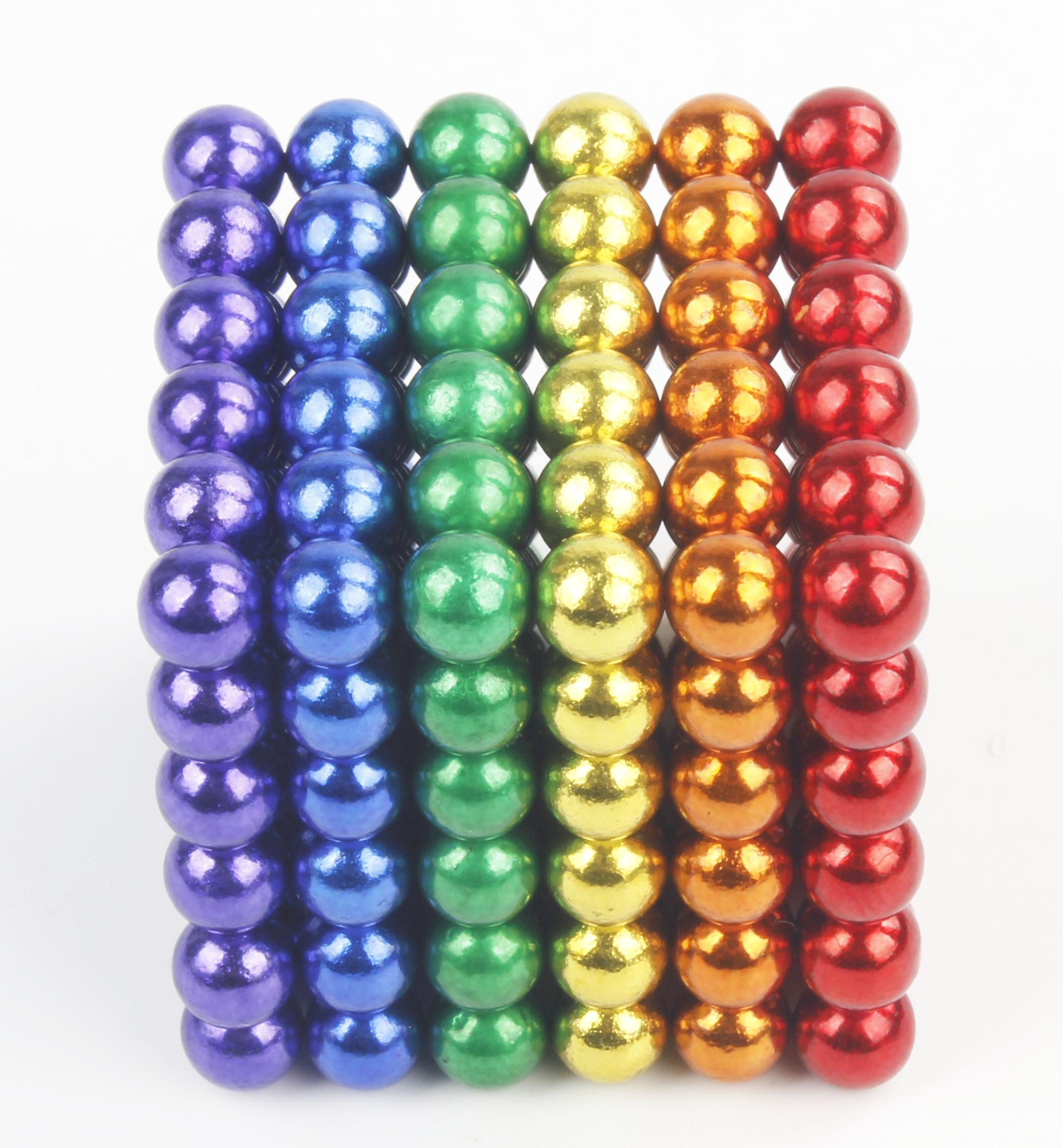 In Stock Hot Sell  Neodymium magnetic rods and balls 168pcs 200pcs 250pcs 350pcs colorful magnetic stick and balls