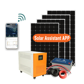 solar energy products 5kw power packs solar system supply for home