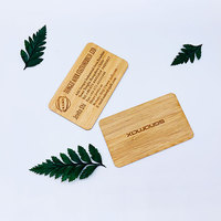 Environmental protection material business card