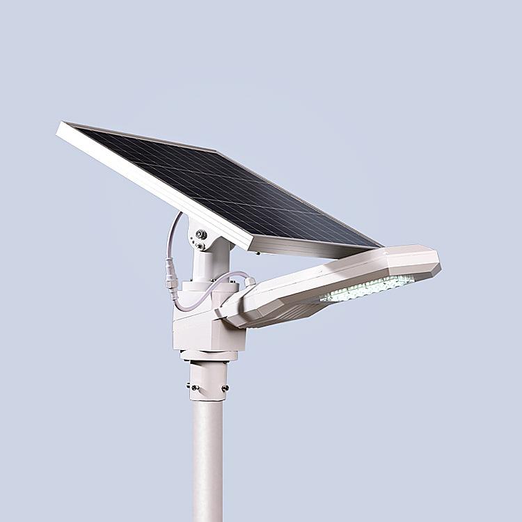 best selling street pole light solar streetlight with solar panel die cast aluminum for garden  30 watt 50watt  60 watt 80 watt