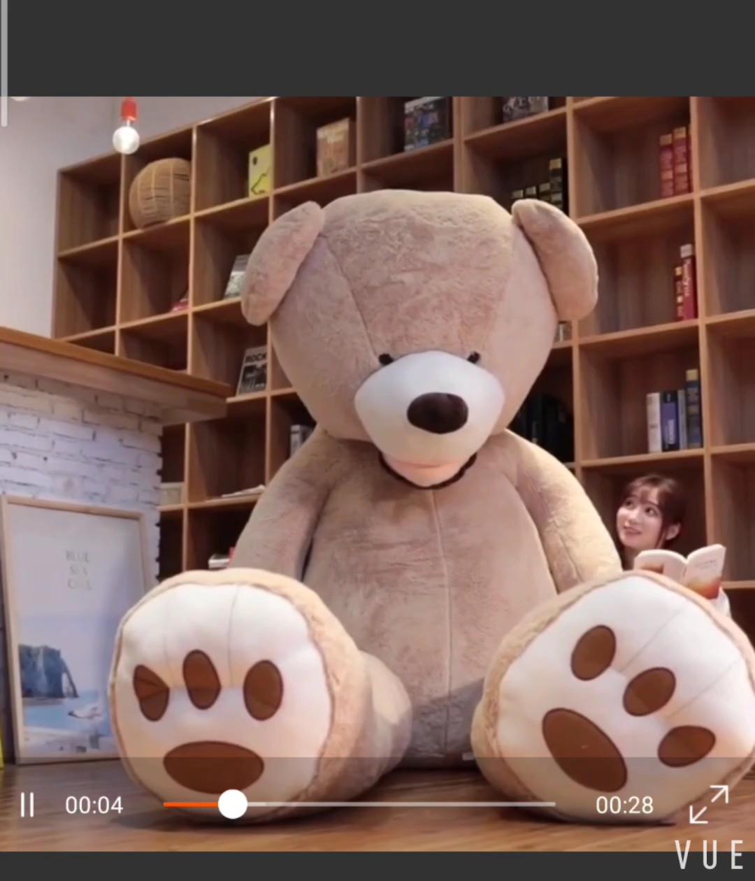 Wholesale Factory China Unstuff Soft Plush Big Giant Teddy Bear  Skin Plush Animal Bear Custom Cheap Giant Huge bear