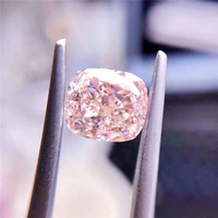 Hot Sale Beautiful high Quality SI Diamond Jewelry Fancy Light Pink Brownish 2.02ct Natural Loose Diamond
