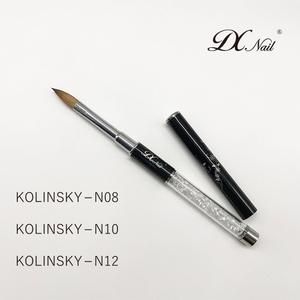 Kolinsky Hair Acrylic Nail Art Brush nail brushes kolinsky acrylic Germany Nail Brush 100%
