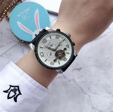 Mont 2020 новые роскошные Брендовые мужские автоматические часы DZ Blanc двухсторонние полые механические часы Tourbillon Мужские часы мужские подарки(Китай)
