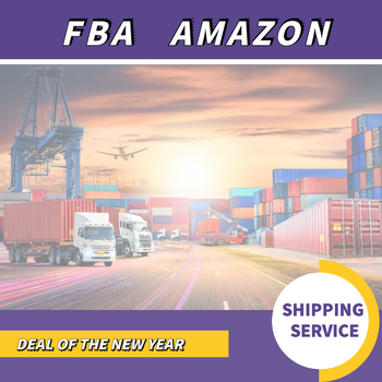 Sea freight to USA Amazon fba China shipping agent ddp service with tracking number
