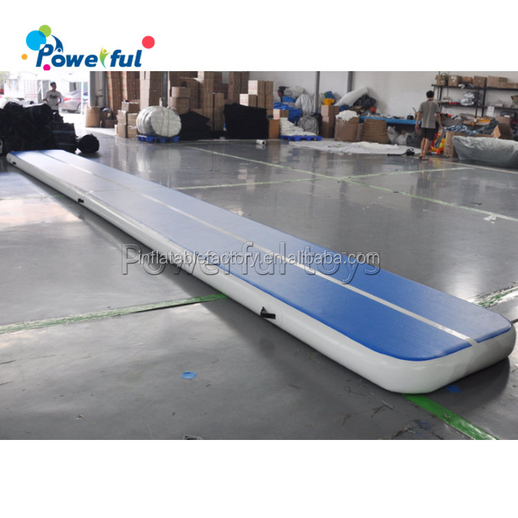 Yard Or Gym Use Airtrack 10m Folding Tumbling Mat Inflatable Air Beam