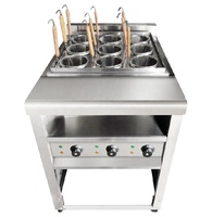 Hotel supply Gas Pasta cooker with cabinet for kitchen