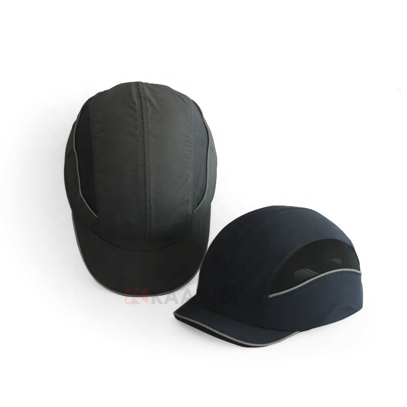 Head Protective ABS Plastic Shell EVA Pad Helmet Insert Baseball Safety Bump Cap Breathable