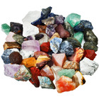 New Product Natural Mixed Landscaping Colored Raw Stones Rough Rock Crystals For Decorative Stones