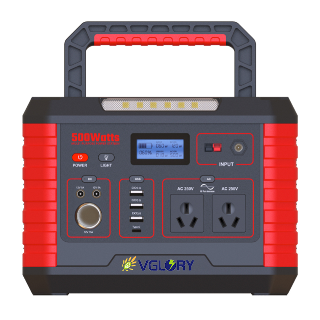 300w Battery Multi Function Station Freezer New Design Ac Bank Portable Power Supply For Electronics