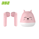 Cartoon Bluetooth Earphone Stereo Earbud Wireless Headset Built-in Mic with Charging Box Nice Christmas Gifts
