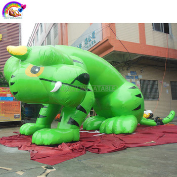 Outdoor Advertising Inflatable Animal/ Giant Inflatable Tiger for advertising