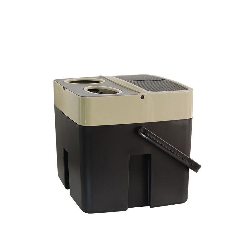 CARSUN автомобильный контейнер для хранения мусора органайзер для багажника коробка многофункциональное сиденье ведро-органайзер подстакан...(Китай)