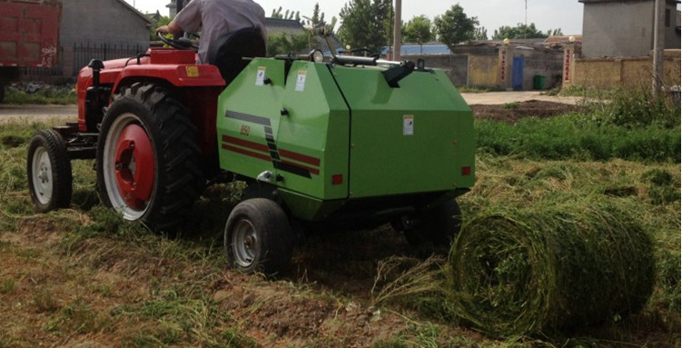 Hay and Straw Baling Machine/ Grass Baler/Mini Round Hay Baler for Sale