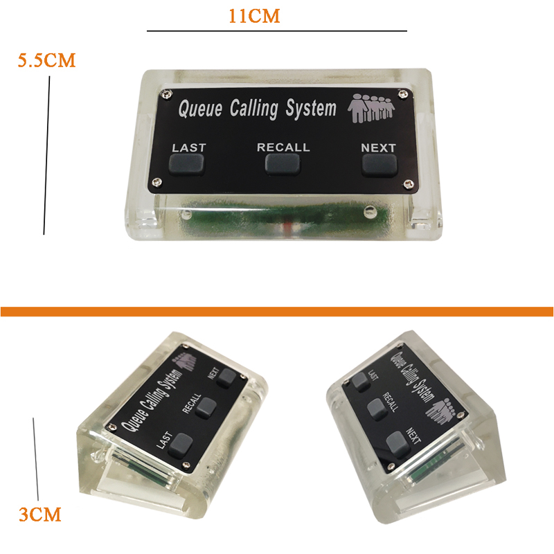 Waiter Restaurant Wireless Ordering Queue Manage System Long Range Strong Signal 200M in open area 433MHZ
