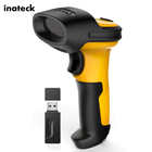 China Inateck USB Rugged Inventory Barcode Reader 1D Laser Long Range Handheld Android Barcode Scanner Software