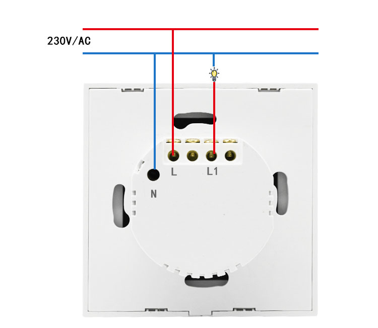 EU UK wifi switches smart home switch light touch button panel wireless remote control wall switch smart life