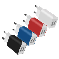 SChitec Factory Supply New Design Prime Quality Mobile Phone Charger Dual USB Wall Charger