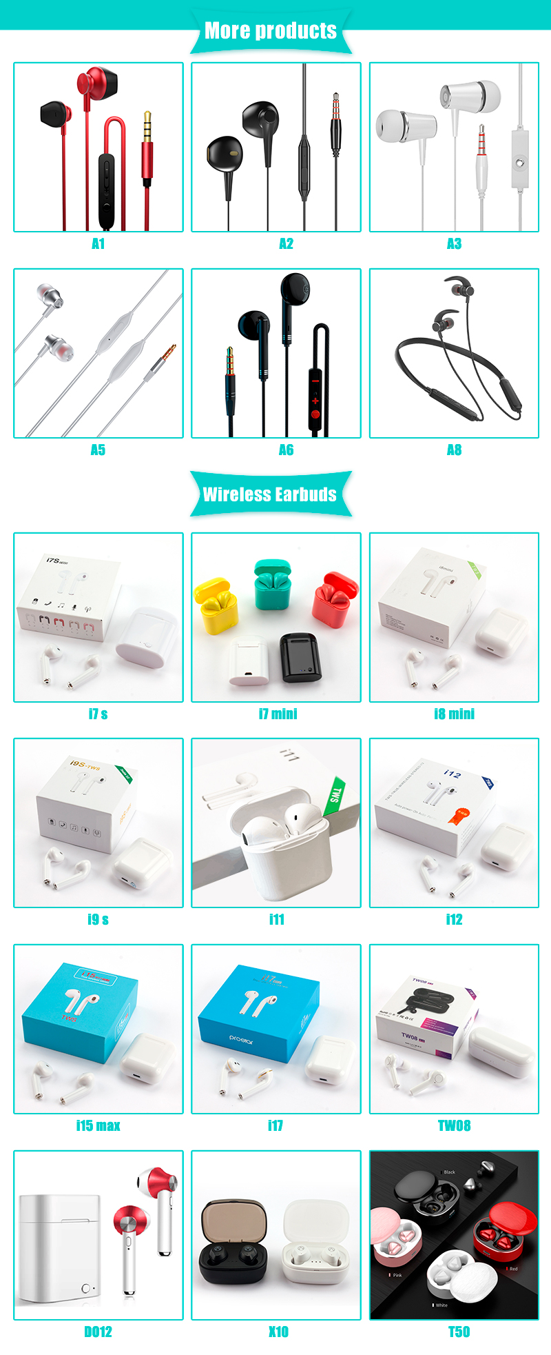 mini TWS earbuds Bluetooth 5.0 Sports Headset Wireless Earphone with charging box for phones