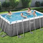 One-Stop Service Bestway 56722 Power Superior Steel Design Metral Above Swimming Pool