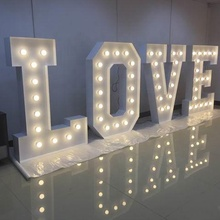 Letters Wedding Sign Party Supplies Set Event Party Supplies