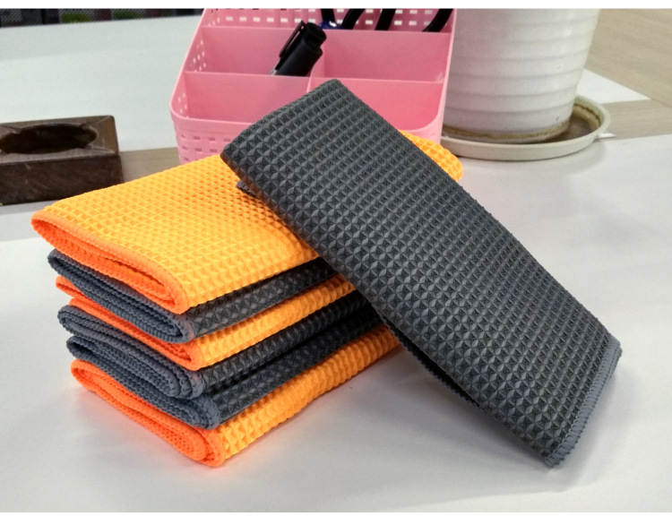 microfiber wash cloth waffle car cleaning towel microfiber towel car cleaning micro fiber towel Wholesale