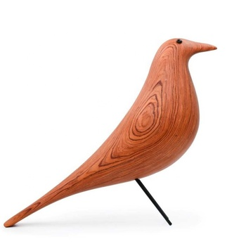 Modern classic wooden animal crafts natural rosewood pigeon for decoration