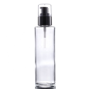 Guangzhou Yinmai 100ml Glass Airless Pump Lotion Bottle Eco Friendly Cosmetic Packaging