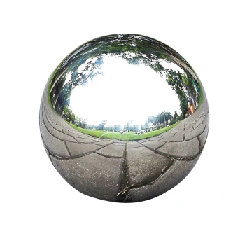 300mm hollow steel ball mirrored spheres 2mm thickness