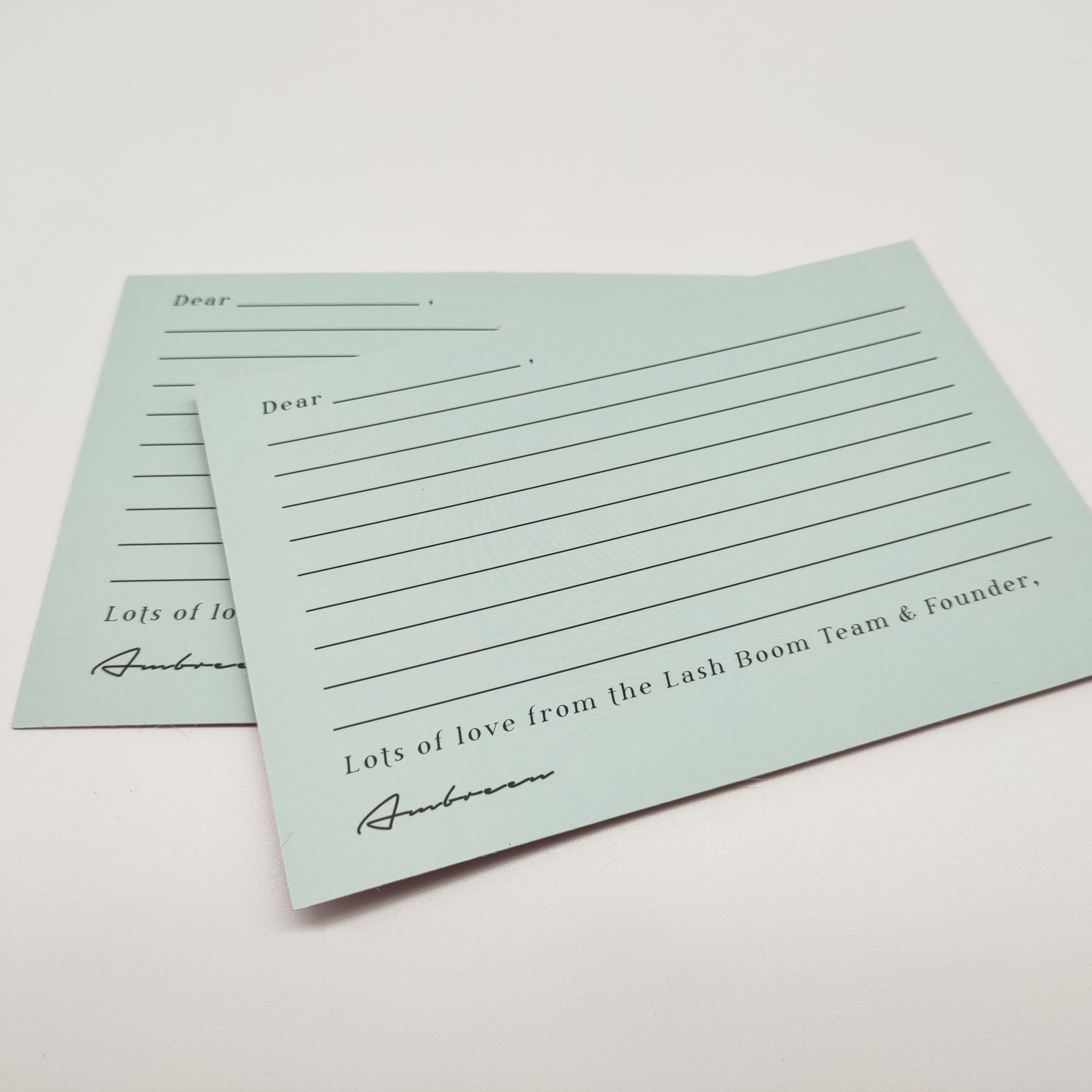 Custom Newest business/thank you/ Christmas/birthday/gift coated paper card