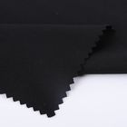 Cotton Interlock Fabric Interlock Solid Cotton Fabric Custom Black Double Faced Knitted Solids Cotton Interlock Fabric For Garment Trousers