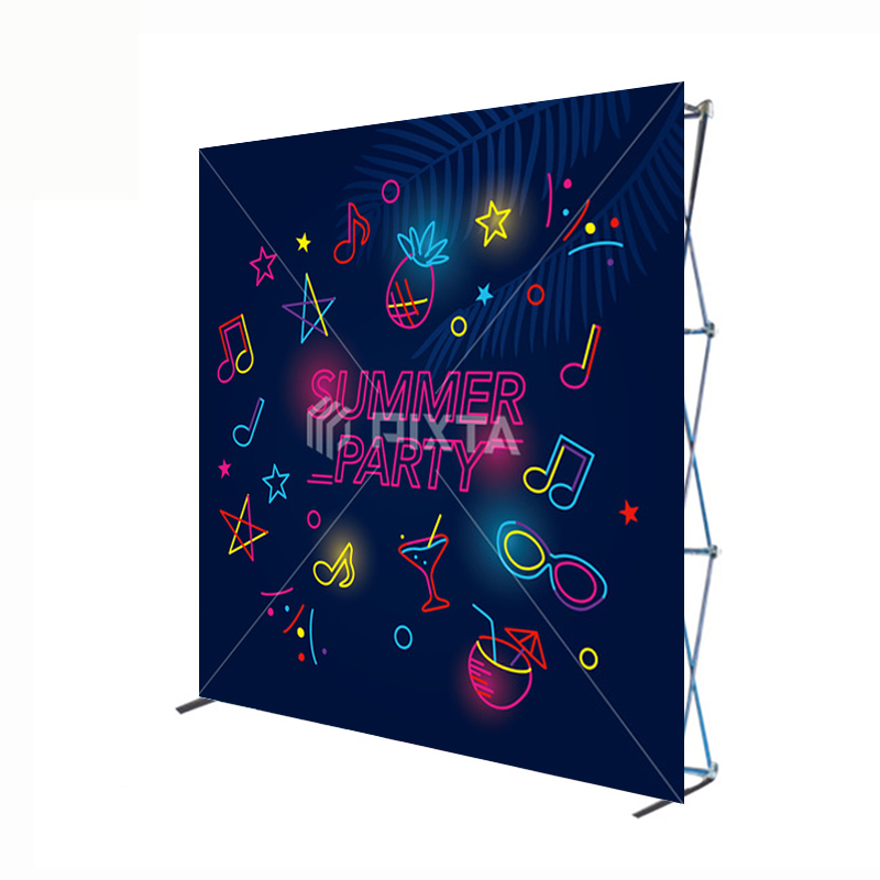 Custom Wall Creative Advertising Backdrop Exhibition Pop Up Display <strong>Stand</strong>