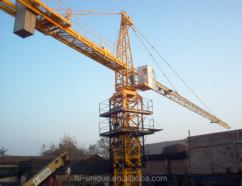 Hot selling high quality Professional Construction Machine china tower crane With Best Service