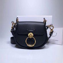 ALNEED роскошные женские сумки 2020 дизайнерская брендовая сумка-Седло кожаная женская сумка через плечо модная сумка через плечо винтажная сум...(Китай)