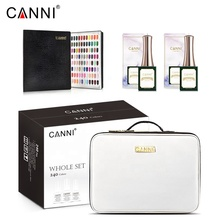 Canni <span class=keywords><strong>Gel</strong></span> <span class=keywords><strong>Polish</strong></span> 240 Kleuren Hele Set Manicure Nail Art Salon Uv <span class=keywords><strong>Gel</strong></span> Peel Off Base Coat Lang Dragen Geen-Veeg Topcoat + Kleur Kaart