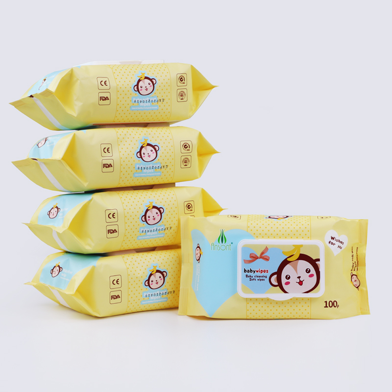 OEM Custom Available Soft Moist Sensitive Skin Cleaning Babies Wet Wipes