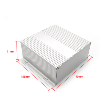 Outdoor Die Casting Aluminum junction Enclosure swith box for Electronics from SZOMK