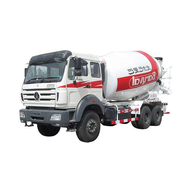 الصين بيبين العلامة التجارية العلامة التجارية الجديدة 6x4 أعمال البناء الجاف شاحنة خلط الخرسانة للبيع