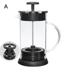 Термос из нержавеющей стали, термос 1000 мл с французским прессом для приготовления кофе/чая(Китай)