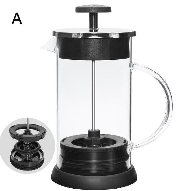 Французский пресс для кофе/чая, заварки, кофейник, чайник, 1000 мл, нержавеющая сталь, стеклянный термос, бариста, инструменты, кофейные чашки(Китай)