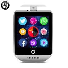 Color display color smart watch phone best selling wrist smartwatch Q18 female smart watch for samsung galaxy s10