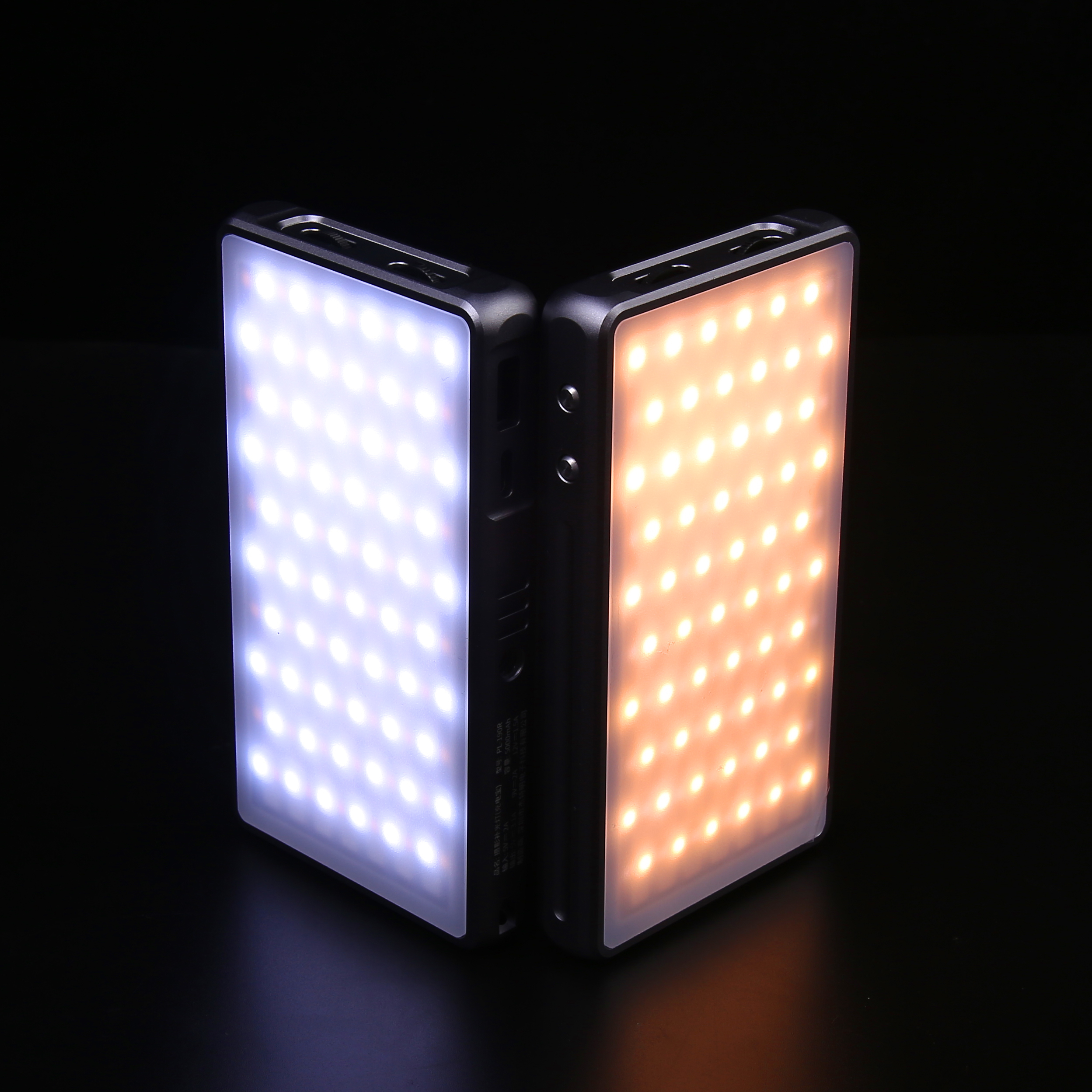 Buddiesman PL-190R Pocket LED Light 2500K-8500K RGB Full color Portable Fill Light Photography Lighting for Camera Vlog Video