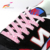 140cm Multicolor Two-tone Checkered Strings Cross Flat Sneaker Shoelaces for sneaker